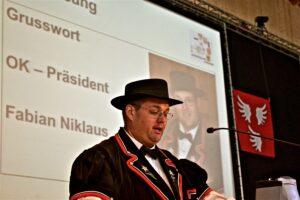 OK Präsident Fabian Niklaus