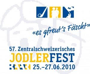 Logo Jodlerfest Baar 2010