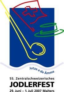 Logo Jodlerfest Malters 2007
