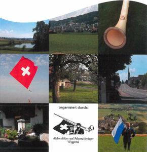 Herbstversammlung Alphorn und Fahnenschwingen 2015